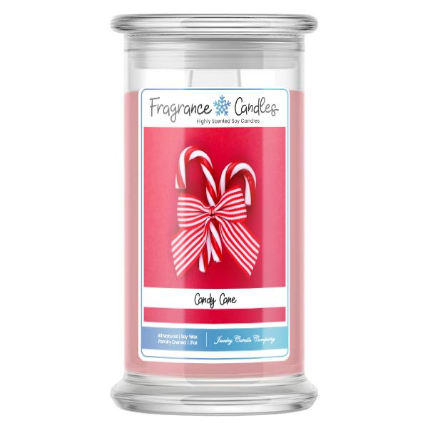Candy Cane Fragrance Candle