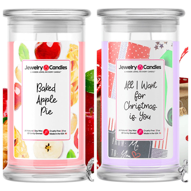 Copy of Two Jewelry Candles + Godiva Chocolate Bar