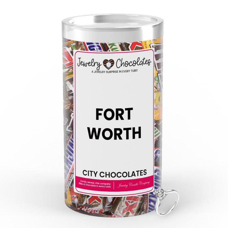 Fort Worth City Jewelry Chocolates