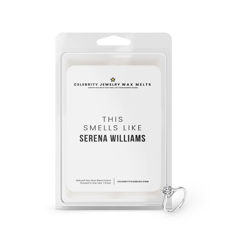 This Smells Like Serena Williams Celebrity Jewelry Wax Melts