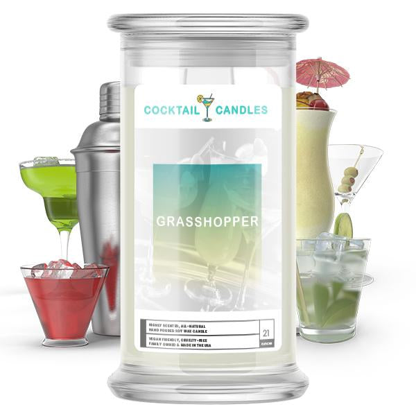 Grasshopper Cocktail Candle