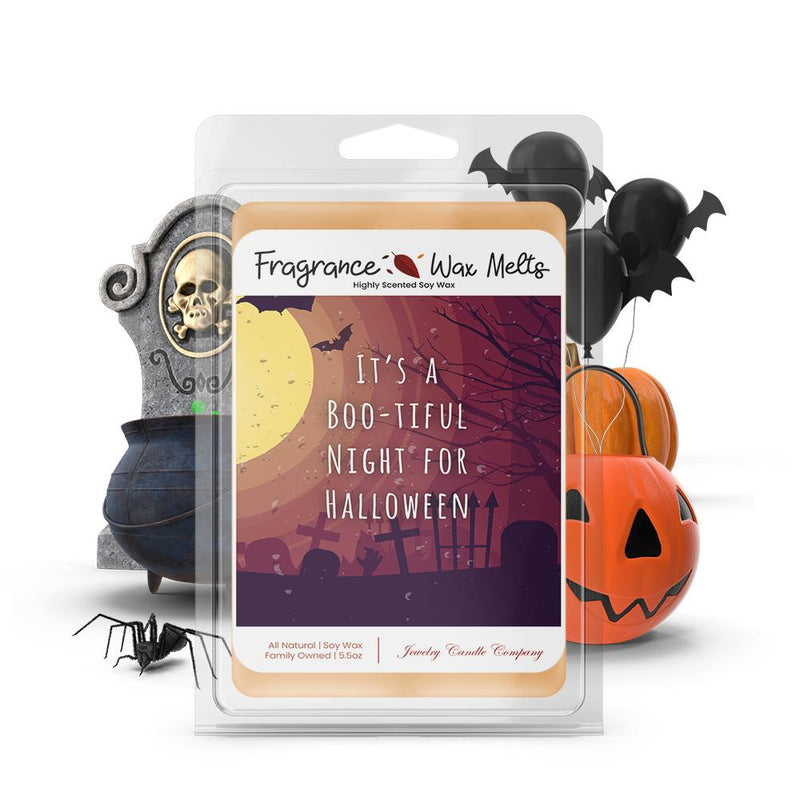It's a boo-tiful night for halloween Fragrance Wax Melts