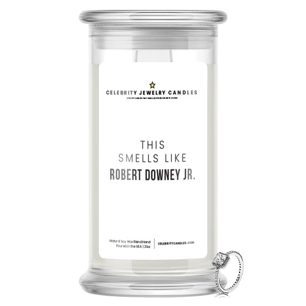 This Smells Like Robert Downey JR. Celebrity Jewelry Candle