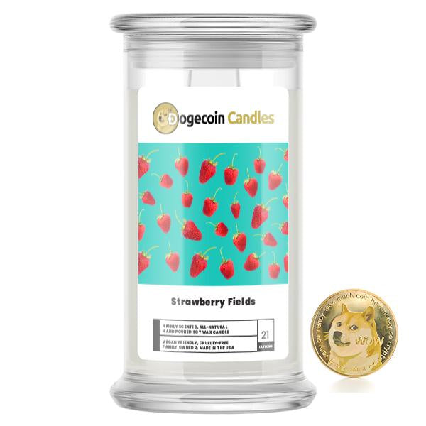 Strawberry Fields DogeCandles