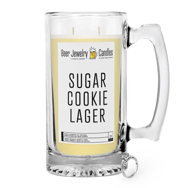 Sugar Cookies Lager Beer Jewelry Candle