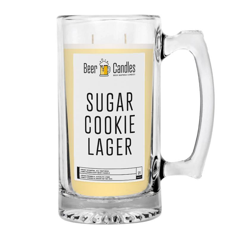 Sugar Cookies Lager Beer Candle