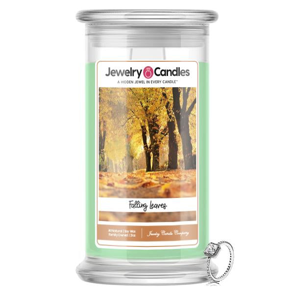 Falling Leaves Jewelry Candle
