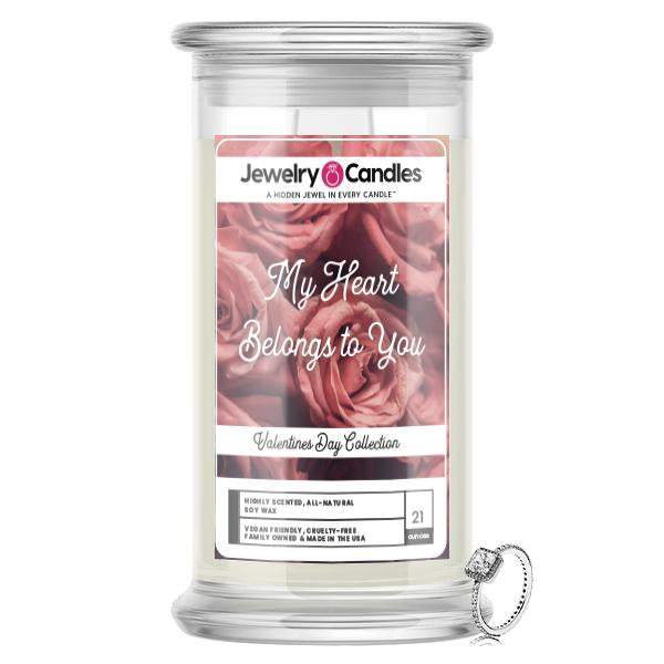 My Heart Belongs To You Jewelry Candle