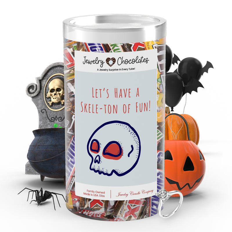 Let's have a skele-ton of fun! Jewelry Chocolates