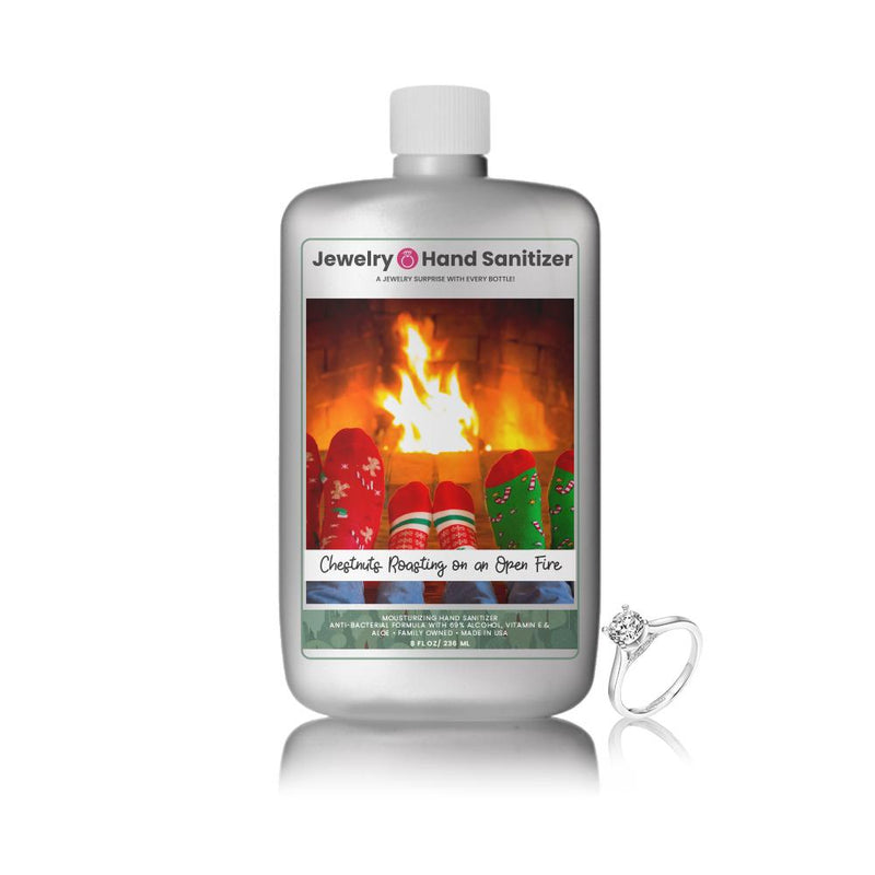Chestnuts Roasting On An Open Fire Jewelry Hand Sanitizer