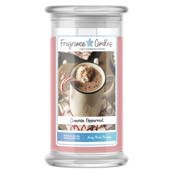 Cinnamon Peppermint Fragrance Candle