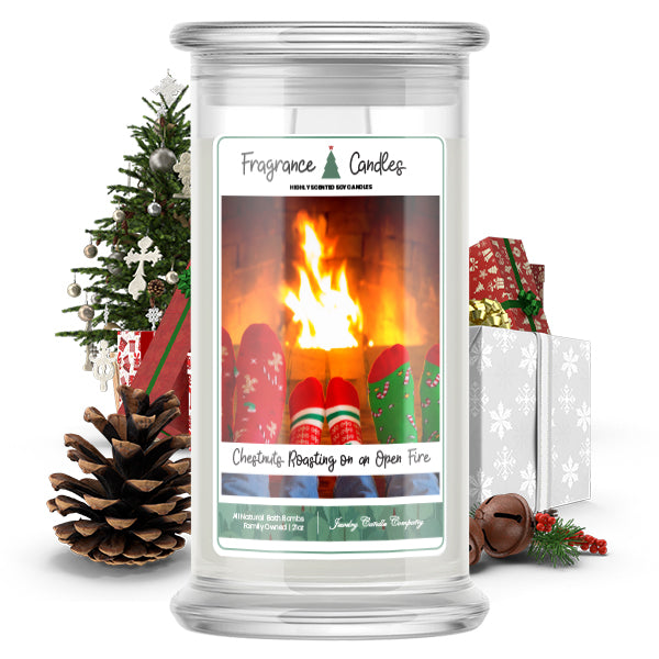 Chestnuts Roasting On An Open Fire Fragrance Candle