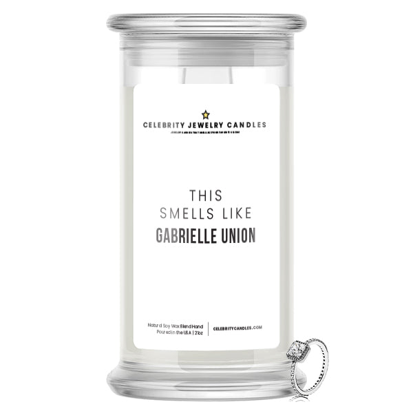 This Smells Like Gabrielle Union Celebrity Jewelry Candle