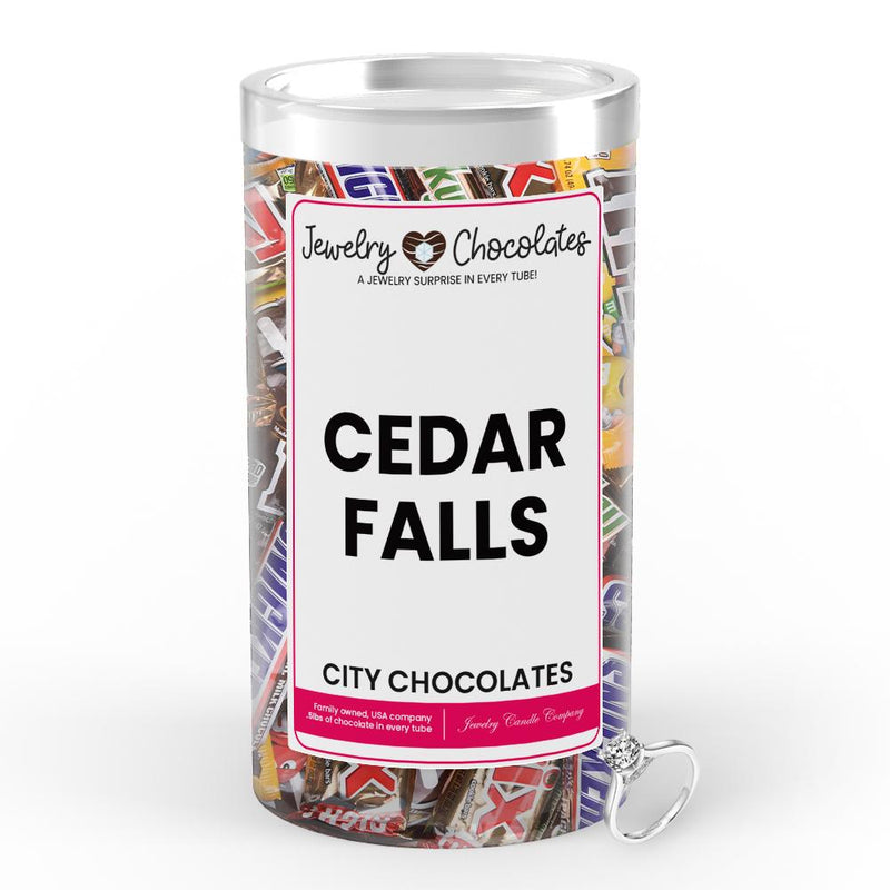 Cedar Falls City Jewelry Chocolates