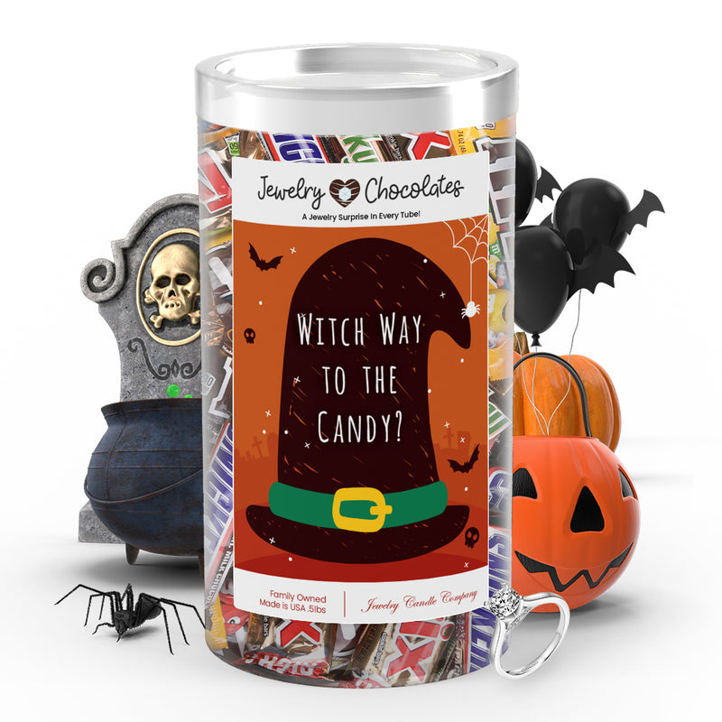 Witch way to the candy? Jewelry Chocolates