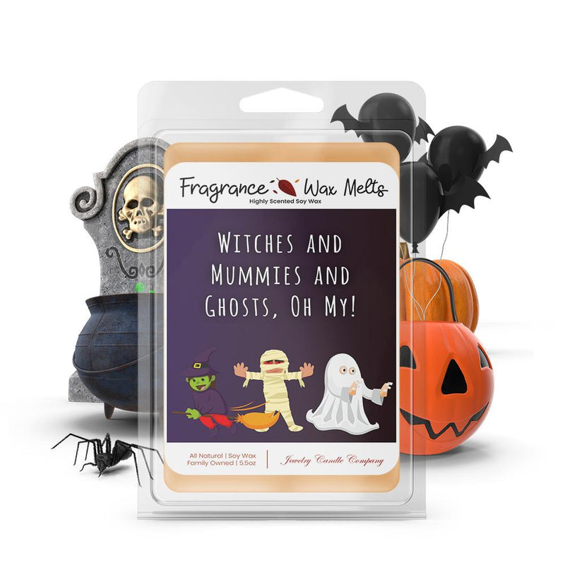 Witches and mummies and ghosts, oh my! Fragrance Wax Melts