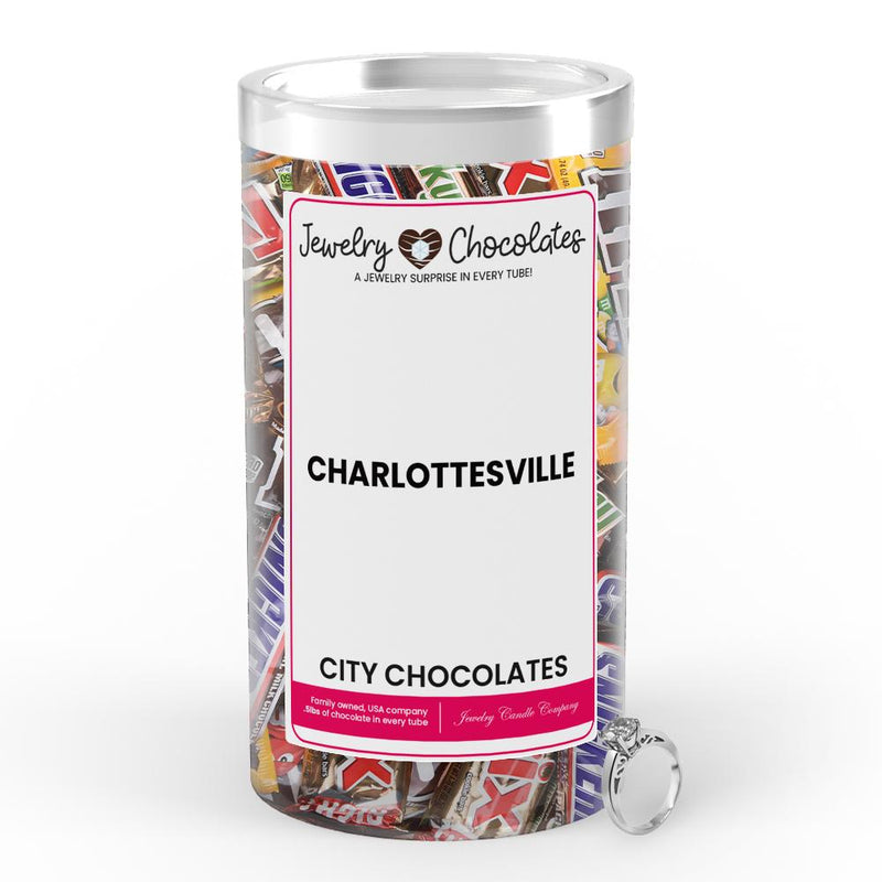 Charlottesville City Jewelry Chocolates