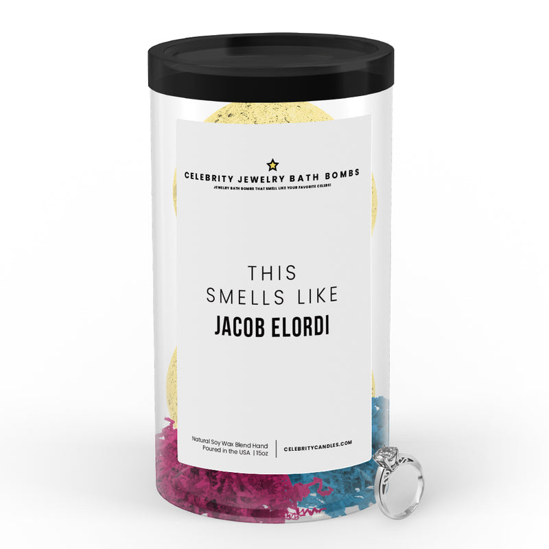 This Smells Like Jacob Elordi Celebrity Jewelry Bath Bombs