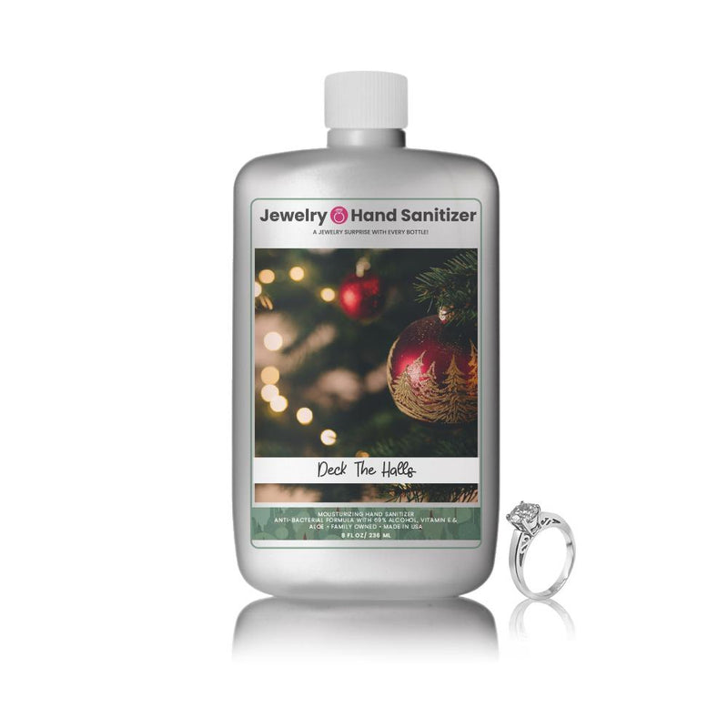 Deck The Halls Jewelry Hand Sanitizer