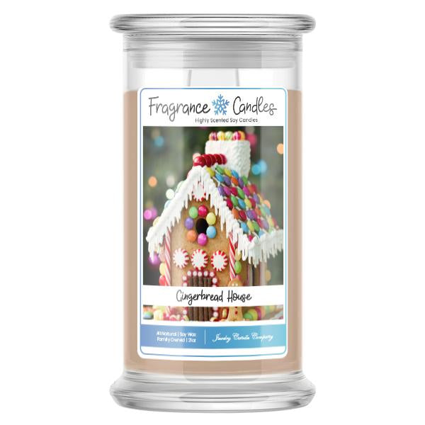 Gingerbread House Fragrance Candle