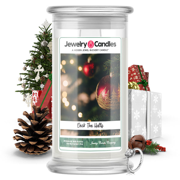 Deck The Halls Jewelry Candle