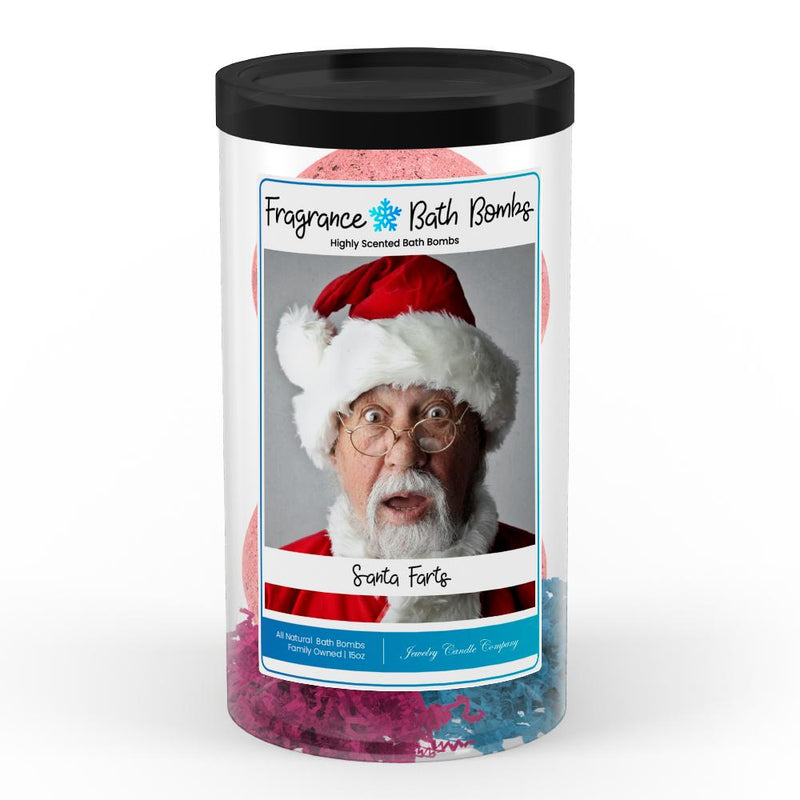 Santa Farts Fragrance Bath Bombs