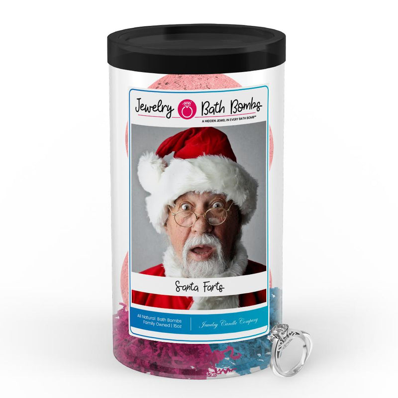 Santa Farts Jewelry Bath Bombs