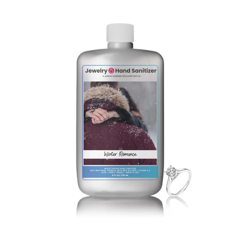 Winter Romance Jewelry Hand Sanitizer