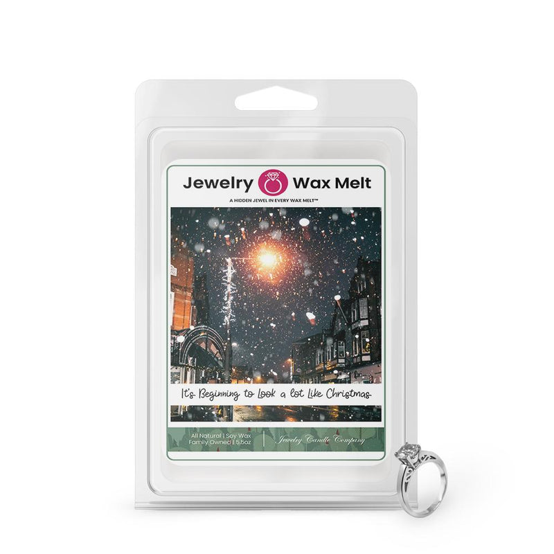 It's Begnning To Look A Lot Like Chrismas Jewelry Wax Melt