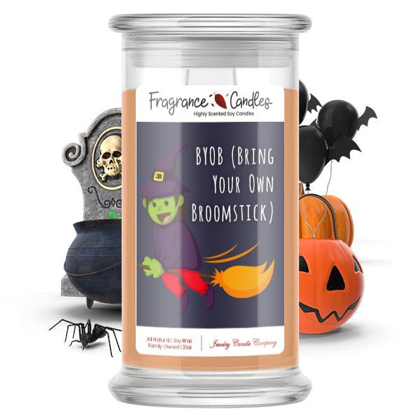 BYOB (Bring your own broomstick) Fragrance Candle