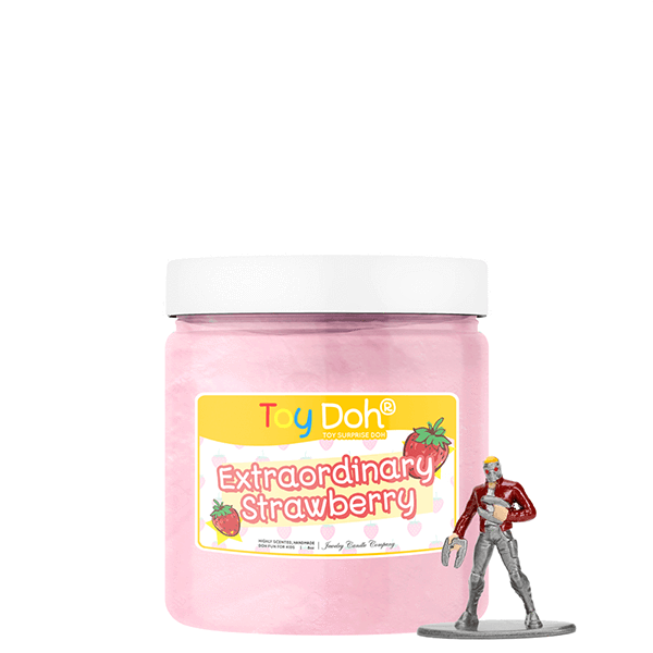 Extraordinary Strawberry | Toy Doh®-Jewelry Candle Kids-The Official Website of Jewelry Candles - Find Jewelry In Candles!