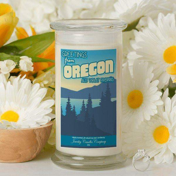 Greetings From Oregon - Greetings From Candles-Greetings From Candles-The Official Website of Jewelry Candles - Find Jewelry In Candles!