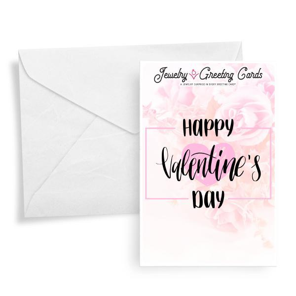 Happy Valentine's Day | Valentine's Day Jewelry Greeting Card®-Jewelry Greeting Cards-The Official Website of Jewelry Candles - Find Jewelry In Candles!