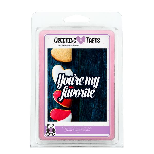 You're My Favorite | Greeting Tart-Greeting Tarts-The Official Website of Jewelry Candles - Find Jewelry In Candles!