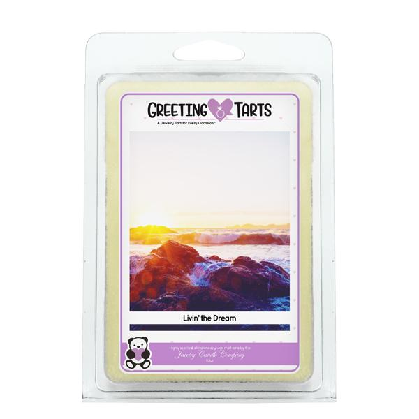 Livin' The Dream | Greeting Tart-Greeting Tarts-The Official Website of Jewelry Candles - Find Jewelry In Candles!