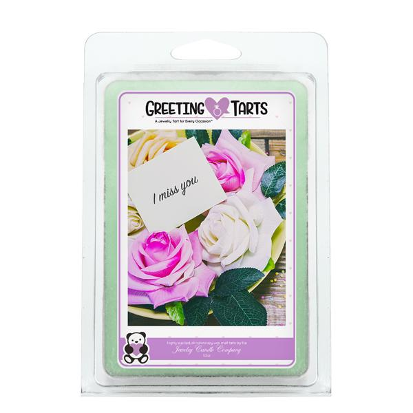 I Miss You | Greeting Tart-Greeting Tarts-The Official Website of Jewelry Candles - Find Jewelry In Candles!