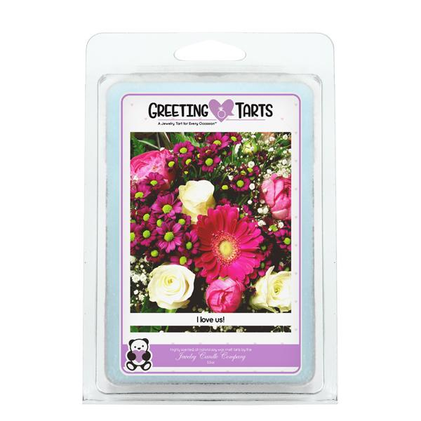 I Love Us! | Greeting Tart-Greeting Tarts-The Official Website of Jewelry Candles - Find Jewelry In Candles!