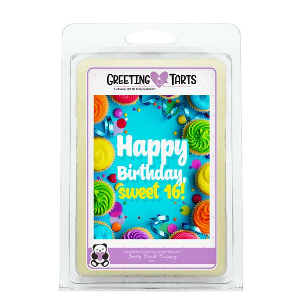 Happy Birthday, Sweet 16! | Greeting Tart-Greeting Tarts-The Official Website of Jewelry Candles - Find Jewelry In Candles!