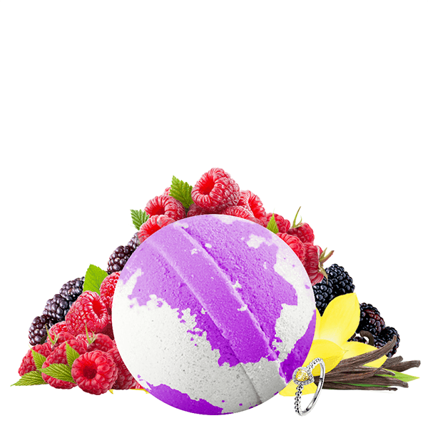 Very Berry Vanilla Jewelry Bath Bomb