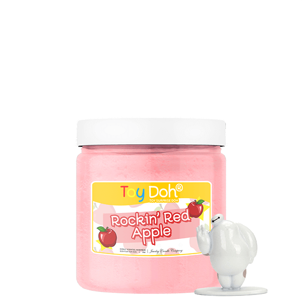 Rockin' Red Apple | Toy Doh®-Jewelry Candle Kids-The Official Website of Jewelry Candles - Find Jewelry In Candles!