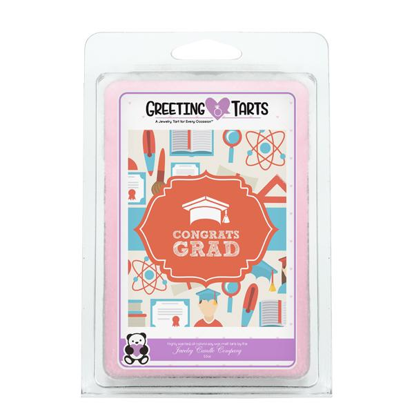 Congrats Grad | Greeting Tart-Greeting Tarts-The Official Website of Jewelry Candles - Find Jewelry In Candles!