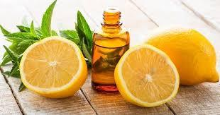 lemon and eucalyptus essential oils
