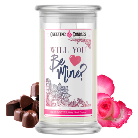 Will You Be Mine? Jewelry Candle
