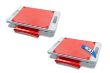 Load image into Gallery viewer, Set of 2 Dripless Cutting Boards 2 In 1 System With Digital Meat Thermometer