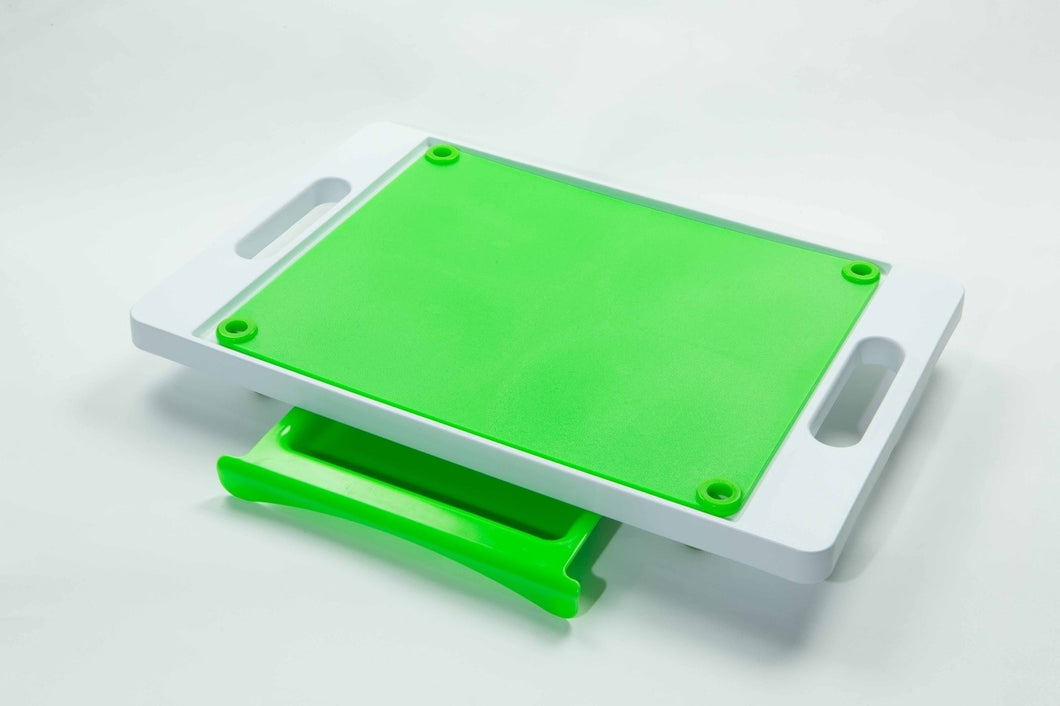 Dripless Cutting Board 2 in 1 System