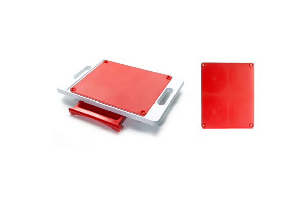 Dripless Cutting Board 2 in 1 System With Additional Cutting Board