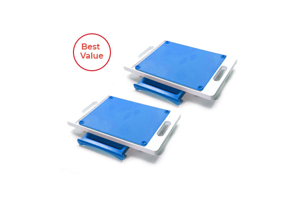 Set of 2 Dripless Cutting Boards 2 in 1 System