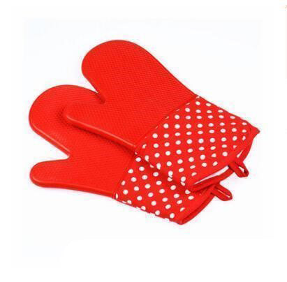 Set of Two Silicone Oven Mitts