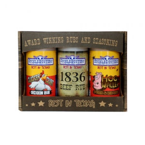 Set of Three BBQ Rubs