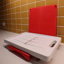 Load image into Gallery viewer, Dripless Cutting Board 2 In 1 System With Digital Meat Thermometer
